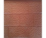 棕色细砖纹